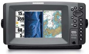 The new Humminbird 898c SI FishFinder GPS Combo