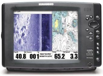 humminbird 1197c si combo humminbird 1197c si combo nvb « top, Fish Finder