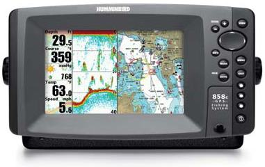 humminbird 858c combo « top fishfinders, Fish Finder