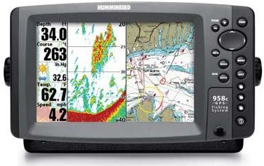 humminbird 958c combo humminbird 958c combo nvb « top fishfinders, Fish Finder