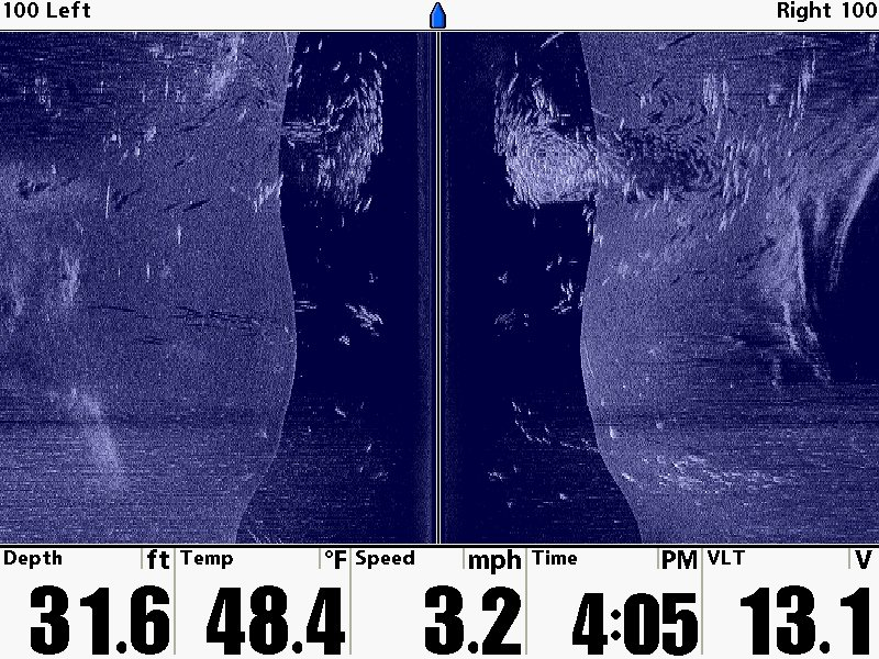awesome humminbird side imaging and down imaging photos « top, Fish Finder