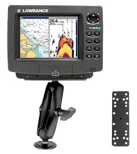 Example RAM Mount for Fishfinder - basspro